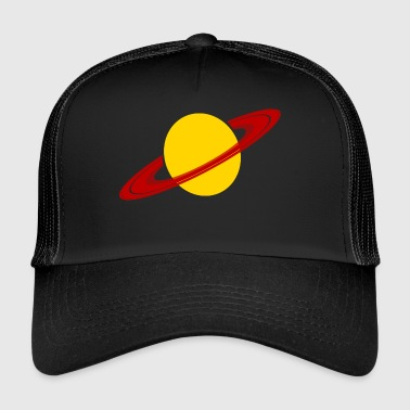 Saturn Planet Space Space Gift - Trucker Cap