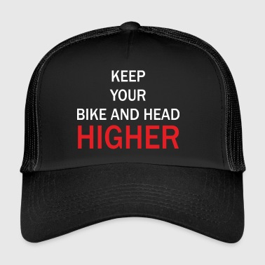 Hold your bike and get up - Trucker Cap