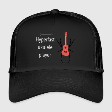 HYPER FAST UKULELE PLAYER - Trucker Cap