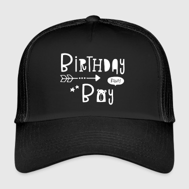 Birthday Boy - Boys - Boy - Boys - Child - Kids - Trucker Cap