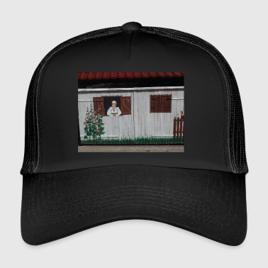 Woman at the window - Trucker Cap
