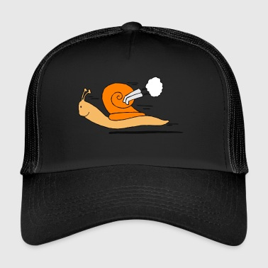 escargot rapide - Trucker Cap