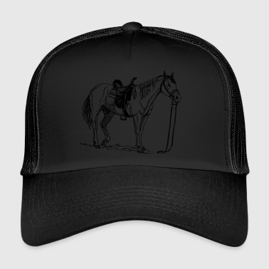 Cheval, poney, jument, étalon, - Trucker Cap