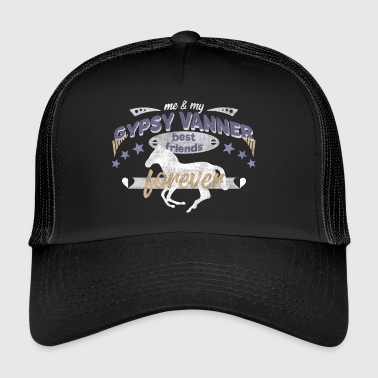 Gypsy Vanner PFerd Pony horse best friends - Trucker Cap