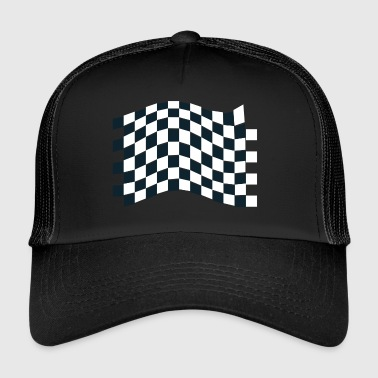 dragster racer automotive car racing car5 - Trucker Cap