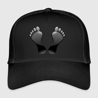 Footprints - Trucker Cap