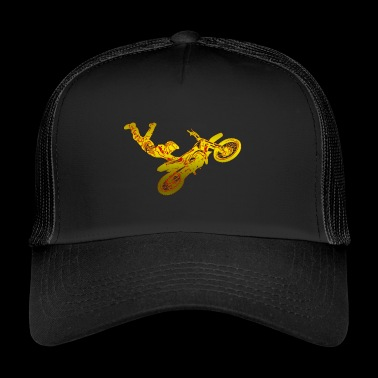 Motocross Dirt Jump - Trucker Cap
