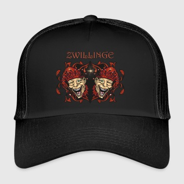 star sign Gemini - Trucker Cap