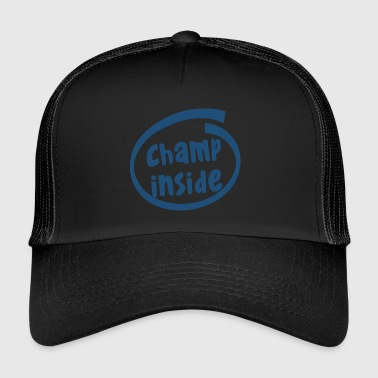 champ inside (1803C) - Trucker Cap