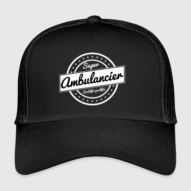 Super ambulancier - blanc - Trucker Cap