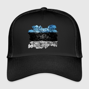 Estonia vintage flag - Trucker Cap