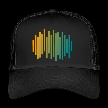 Audio Waveform - Trucker Cap