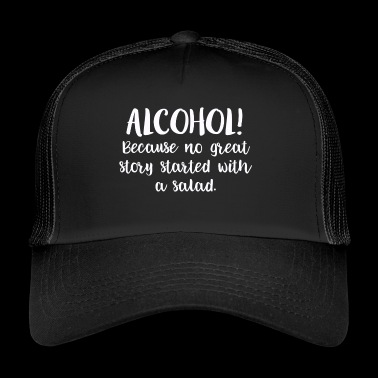 Alcohol beer bachelor gift liquor - Trucker Cap