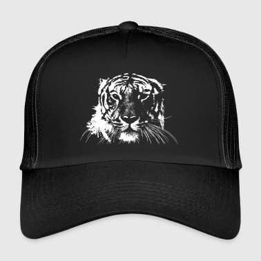 WHITE TIGER - Trucker Cap