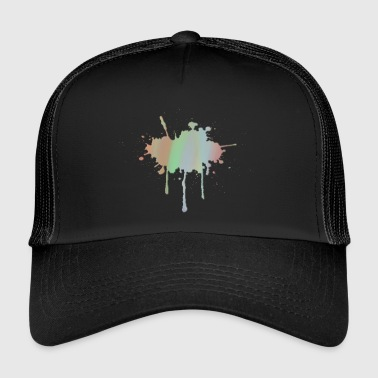 Pastel Splash - Trucker Cap