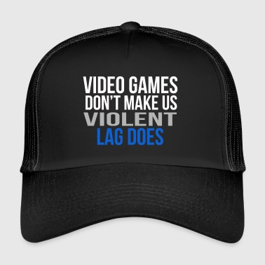 video games - Trucker Cap