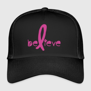 Believe Cancer Fight - Trucker Cap