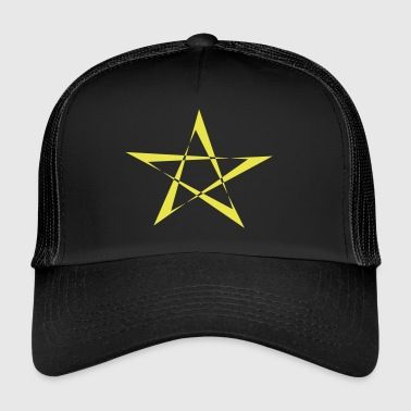 Star Gelb - Trucker Cap