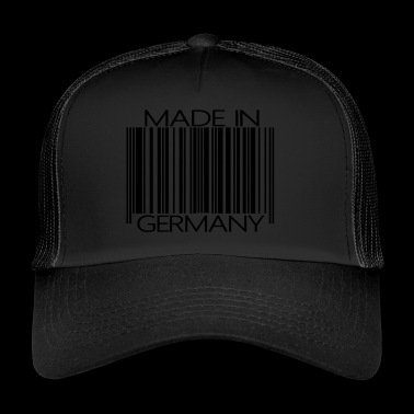 Barcode Made in Germany - Trucker Cap