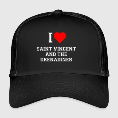 I love Saint Vincent and the Grenadines - Trucker Cap