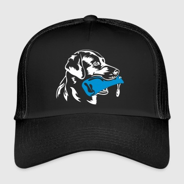Labrador retrievers retrieve dummy - Trucker Cap
