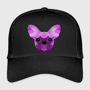 French Bulldog Low Poly Design lilac - Trucker Cap