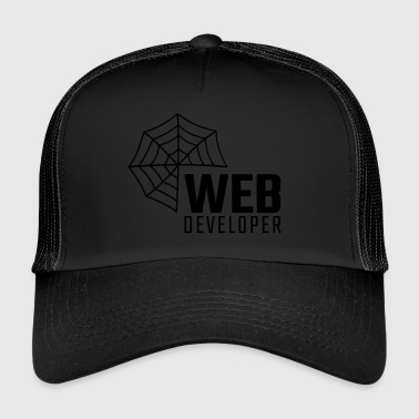 web developer - Trucker Cap