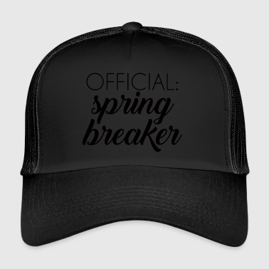 Spring Break / Spring Break: Virallinen Spring Break - Trucker Cap