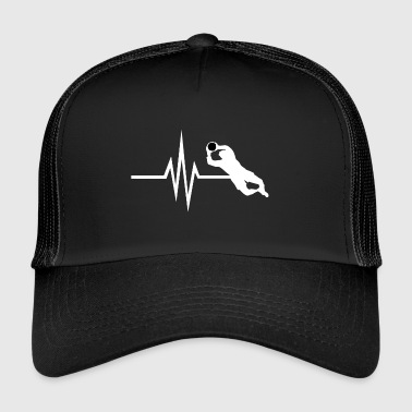 Mon cœur bat pour le football - Gardien de but Gardien de but - Trucker Cap