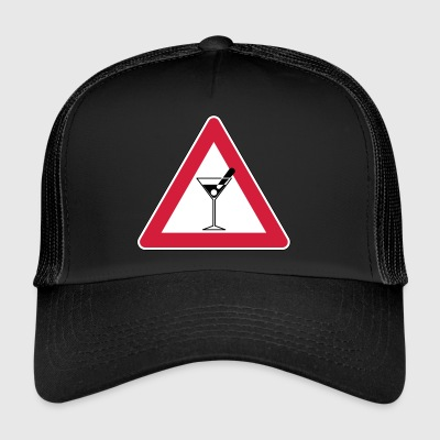 _ danger - Trucker Cap