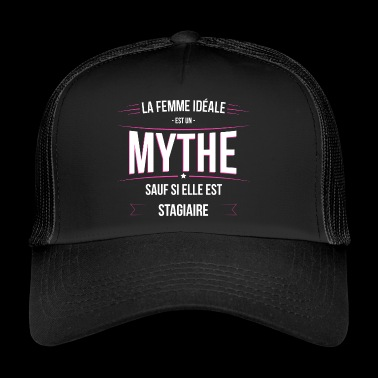 Stagiaire femme ideale Stagiaire - Trucker Cap