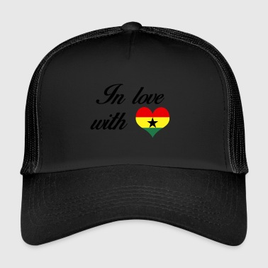 In love with Ghana - Trucker Cap