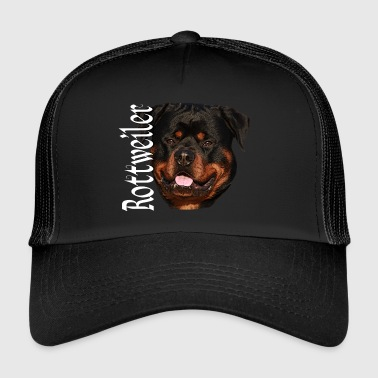 Rottweiler, dog, dog head, dog sports, - Trucker Cap