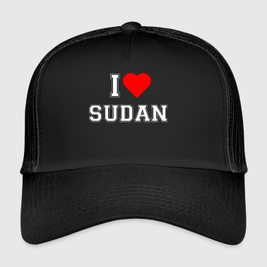 I love Sudan - Trucker Cap