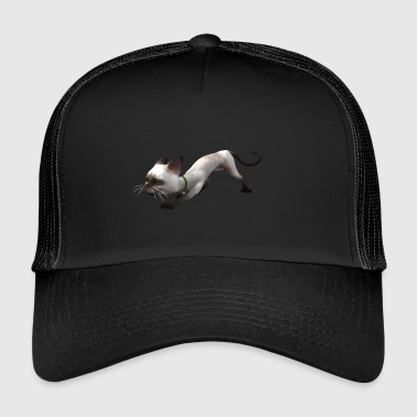 Cat se faufile courut - Trucker Cap