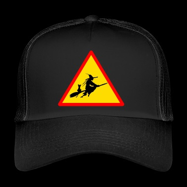 witches witch witches witch halloween - Trucker Cap