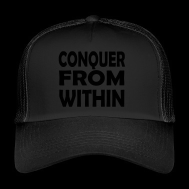 conquer within - Trucker Cap