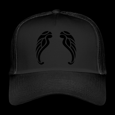 tribal wings - Trucker Cap