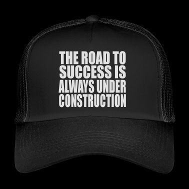 the road - Trucker Cap