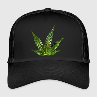 hemp leaf - Trucker Cap