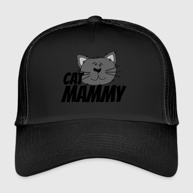 cat mammy - Trucker Cap