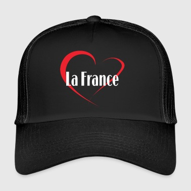 I Love La France - Trucker Cap
