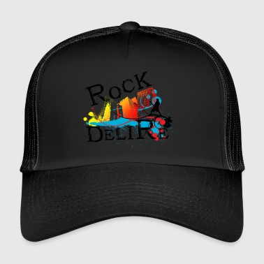 ROCK DELIRE - Trucker Cap