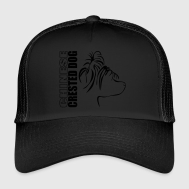 CHINESE CRESTED DOG PROFILE - Trucker Cap