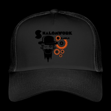Shalom pour Orange - Trucker Cap