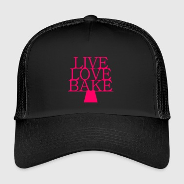 LiveLoveBake extra large - Trucker Cap