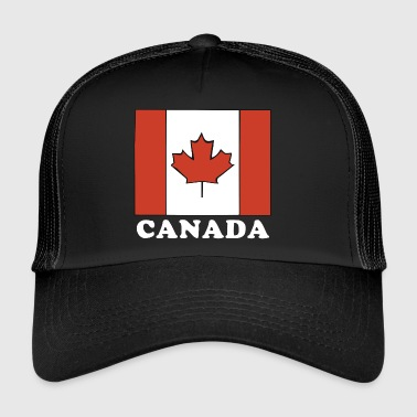 Canada Flag Canadian Flag - Trucker Cap