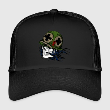 Death Head Soldier 2 - Trucker Cap