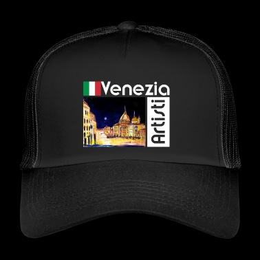 Venice: Venezia Artisti, Grand Canal, light - Trucker Cap