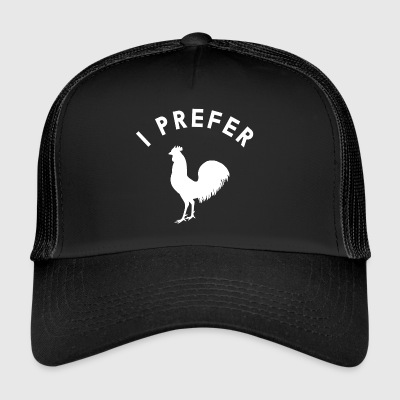 I PREFER ... | Gay LGBT - Trucker Cap